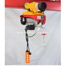Mini electric lifting winch hoist of 100-1000kgs